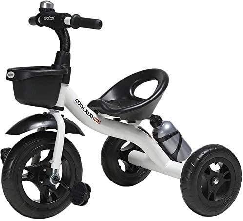 GYF Triciclo niño cochecito triciclo, 2 3 4 5 6 años niño niño niña, niño niño niño triciclo para tres ruedas pedal de bicicleta para pedales