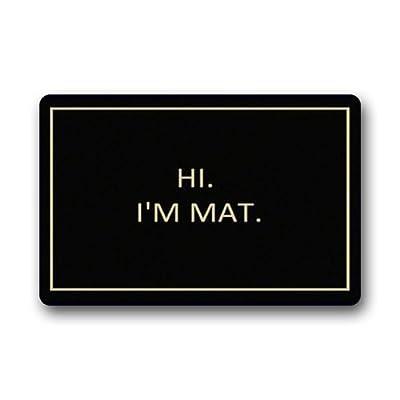 Hi I'm Mat ___ lovely outdoor / indoor doormat(30x18inch)