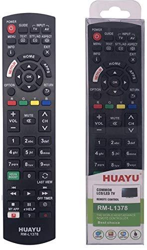 Mando a Distancia para Panasonic LCD 4K Ultra HD HDR Smart TV con Netflix, MY App, Home Function: Amazon.es: Electrónica