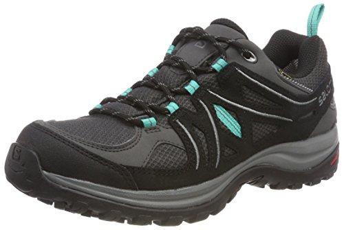 Salomon Ellipse 2 GTX W, Zapatillas de Trail Running Mujer, Gris/Turquesa (Magnet/Black/Atlantis),...