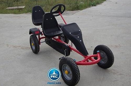oferta de tienda PEKECARS Kart DE DE DE Pedales Sandbeach Dos PLAZAS rojo  Los mejores precios y los estilos más frescos.