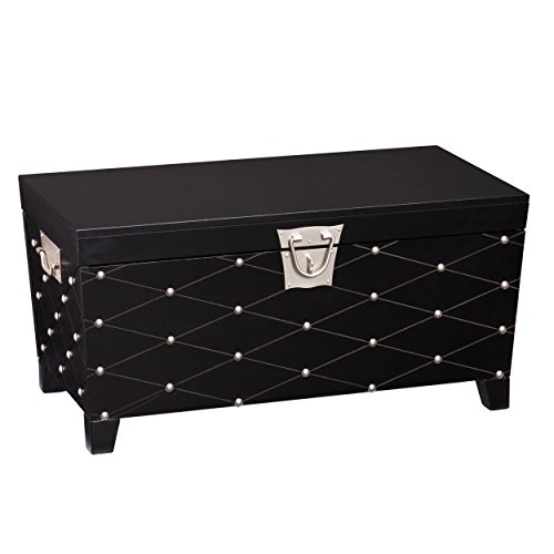 Southern Enterprises Pyramid Storage Trunk Cocktail Table
