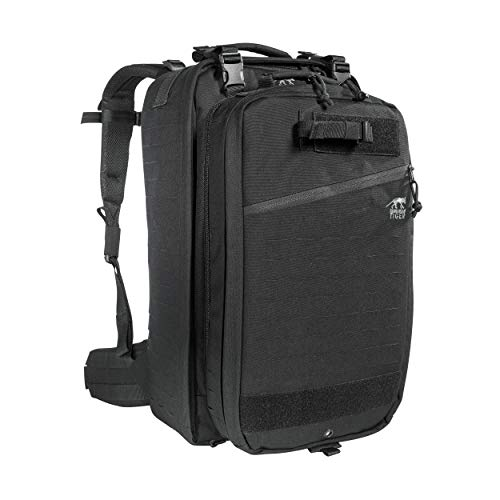 Tasmanian Tiger First Responder Move On Mk II, Tactical Medic Bag, Removable Pack, MOLLE System, YKK Zippers, Black