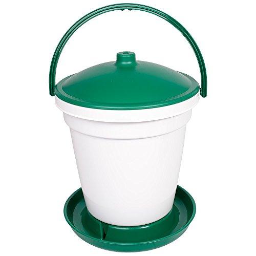 Olba Automatische Geflügeltränke 18 Liter, Geflügel-Tränkeeimer bodenstehend
