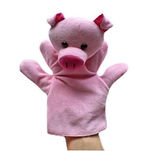 Black Temptation Animal Cerdo de Peluche de Juguete para niños Marionetas de Mano