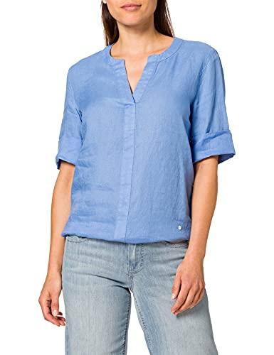 BRAX Damen Style VIO Bluse, Azur, 34