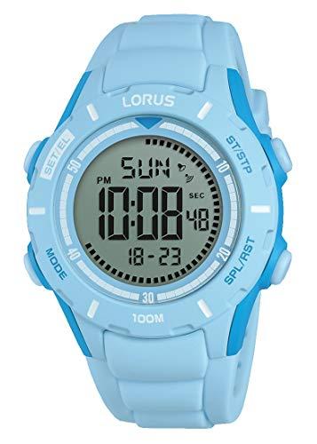 Lorus Orologio Cronografo Digitale Bambina con Cinturino in Silicone...