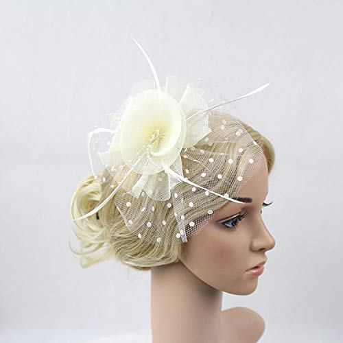 Cocktail Cocktail hoofddeksel voor bruid Banchetto Sera jurk tiara hoed tricot null BeiBai