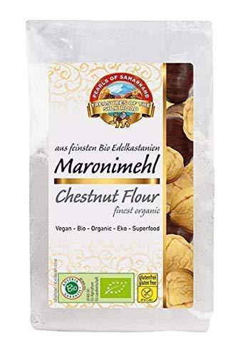 Farine de châtaigne, sans gluten, BIO 1,8kg biologique, cru, sans OGM 6x300g
