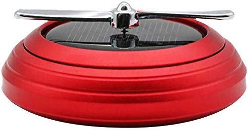 lqgpsx Auto Solar Rotating Parfüm Wiederverwendbarer Erfrischer im Fahrzeug kann Parfüm Auto Innendekoration hinzufügen