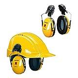 3M Peltor H510P3E Orejeras de protección, 1 unidad/caja, amarillo