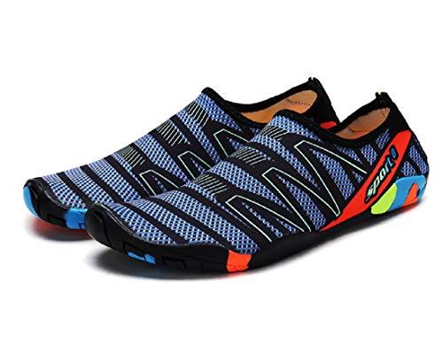 Zapato de Agua Color Zapatos de Playa Escarpines Calzado de Playa Surf para Hombre Mujer