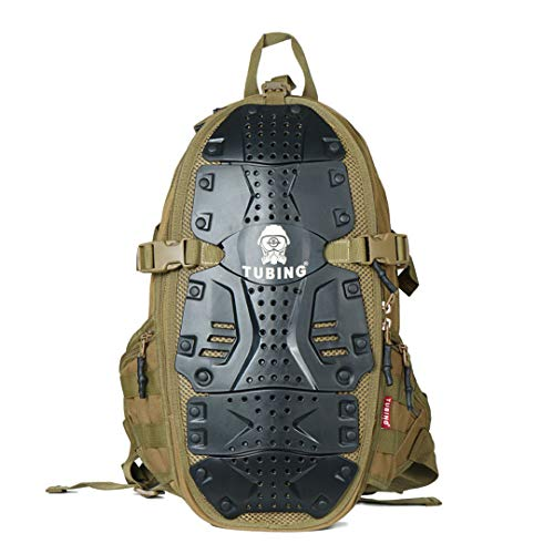 RatenKont Outdoor Sport Rucksack Camping Trekking Hiking Tactical Travel Militery Army Backpack Khaki