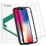 YIWEVEN [3-Pezzi] Pellicola Vetro Temperato per iPhone 11 Pro/X/XS - HD 9H Pellicola Protettiva Schermo per...