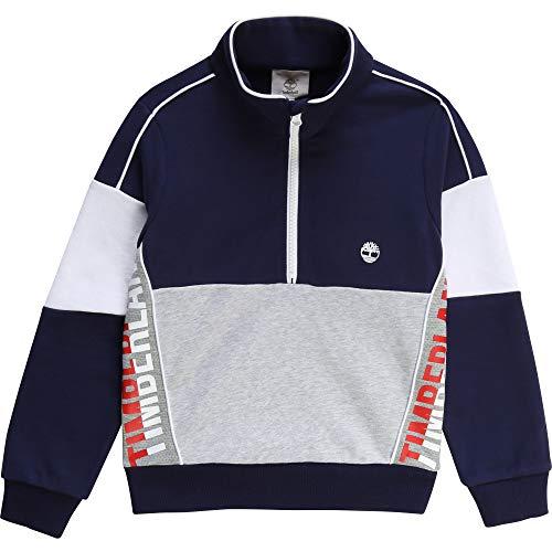 Timberland Kinder Sweatshirt, Fleece, mit Reißverschluss Gr. 2 Jahre, einfarbig