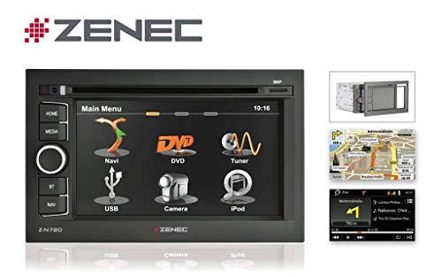 Zenec Z-N720MH - ZENEC Naviceiver 2-Din Motor Home Full-EU-Map