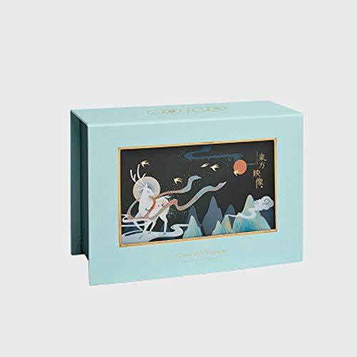 Cajas de Carton con Tapa,Caja de Regalo vacía.Exquisita Caja de Regalo Grande...