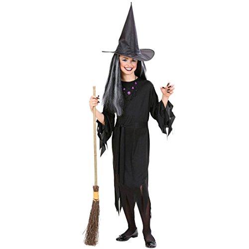 NET TOYS Déguisement de sorcière Enfant déguisement d'enfant déguisement sorcière Halloween déguisement d'halloween 158