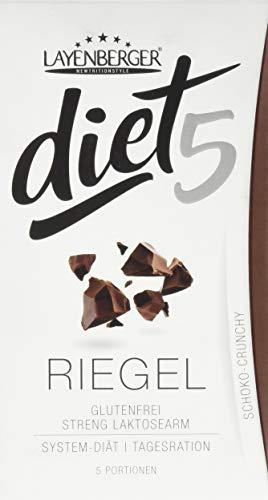 Layenberger diet5 Riegel Schoko-Crunchy, 5 Stück