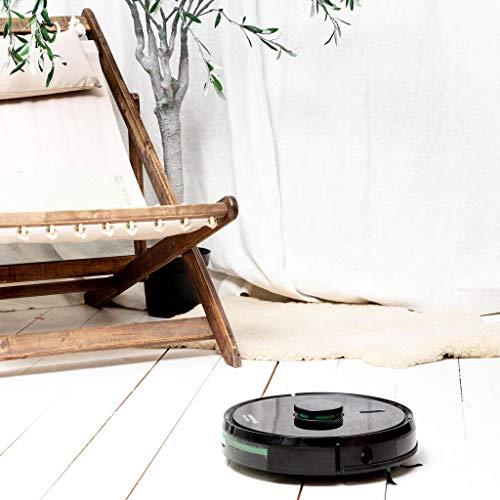IKOHS NETBOT LS23 - Robot Aspirador Láser, Aspira, Barre, Friega y Pasa la Mopa, Mapeo 3d Láser, con Filtro Hepa, Navegación Inteligente, App con Mapa, Wifi, Programable (Autonomía: 120-160 minutos)
