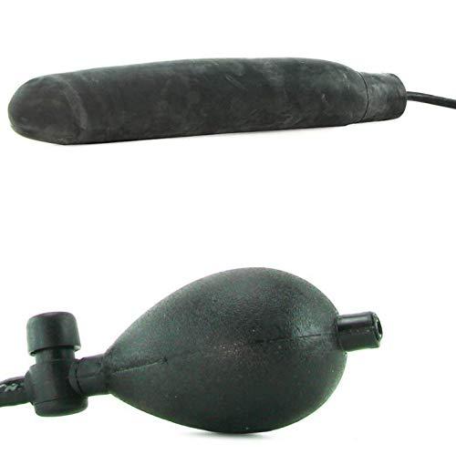 Kostyleva Store 12 Inch Inflatable Huge Black Peg Hot Flame 7531