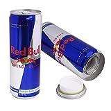 Red Bull de ocultacion + pegatina/Bote de camuflaje/Lata de ocultación imitación refresco (RedBull)