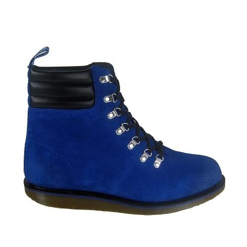 Dr. Martens Morgan Hiking 7Eye Blue, Blu (blu), 45 EU