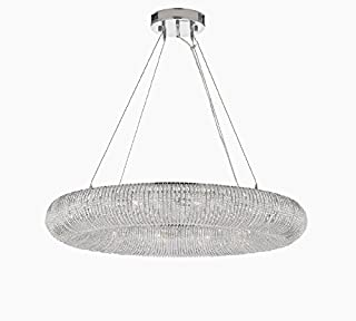 rh crystal halo chandelier 41