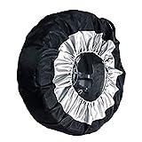 Tapa de neumáticos Caja de la cubierta de los neumáticos Cubierta de neumáticos de recambio de invierno y de verano Bolsas de almacenamiento de las bolsas de almacenamiento de la cubierta de la rueda
