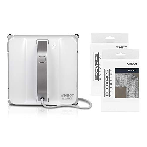 Ecovacs Winbot 850 Automatic Window Cleaning Robot All In One Bundle With Two Accessory Kits Buy Online In India At Desertcart In Productid 174840364