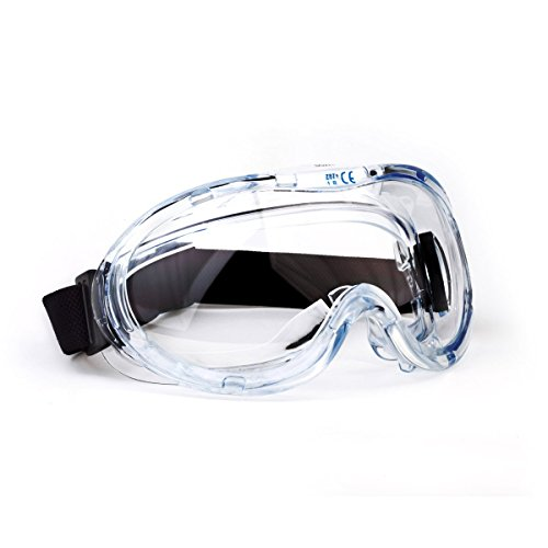 TR Industrial Anti-Fog Approved Wide-Vision Lab Safety Goggle, ANSI Z87.1 Approved by TR Industrial