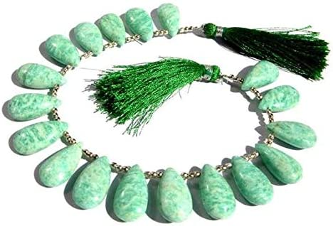 GEMS-WORLD Sales of SALE items from new works Beads Gemstone 8 Inches Miami Mall Smoot - AAA Strand. Amazonite