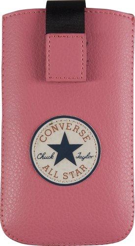 Converse 99CON0182L Pouch Hülle - Basic - L - rosa - Handy Tasche - Schutzhülle -