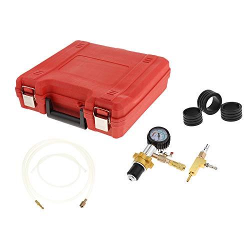 KESOTO Sistema de Enfriamiento Al Vacío Automotriz Profesional Kit de Probador de Presión de Herramienta de Purga Y Llenado de Refrigerante de Radiador Autom