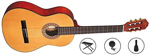 Oqan - Guitarra clásica qgc-25 pack