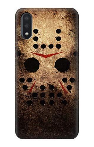 R2830 Horror Hockey Mask Case Cover for Samsung Galaxy A01