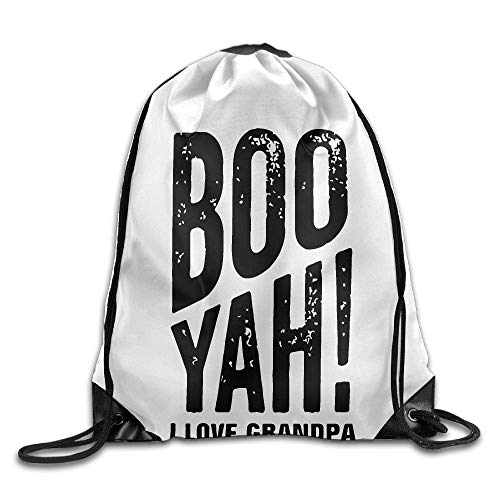 Boo Yah Oma und Opa Unisex Outdoor Rucksack Umhängetasche Sport Drawstring Rucksack Tasche