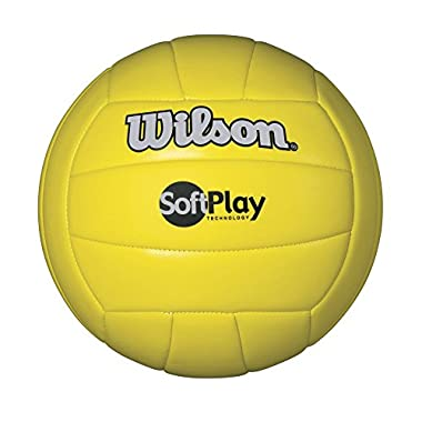 Wilson Outdoor Soft Play Volleyball (Yellow)