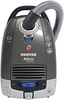 Hoover ATC18LI - Aspiradora sin Cable, 5 litros, Titanio/Azul