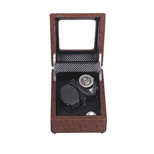 HYCy Watch Box Watch Display Box Drehbarer Shaker Tisch Plattenspieler Schmuck Aufbewahrungsbox Automatisch rotierende Watch Box Display Box