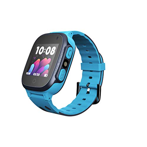 Kariwell GPS Child Positioning Mobile Phone Watch - Accurate Location/Safe Incoming Calls/Walkie Talkie/Safty Zone/Pedometer/Sleeping Monitiring/History Route/Anti-Lost Kari-204 (Blue)