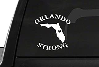 orlando strong car decal