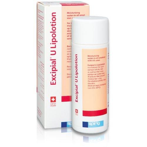 EXCIPIAL U Lipolotion Moisturizing Body Lotion für die trockene und Probleme Urea 4% Lipide 36% 200ml