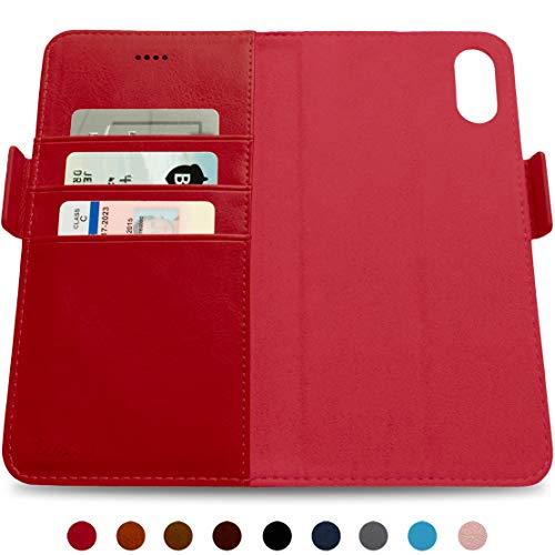 Dreem Fibonacci Folio (TPU) para iPhone XR, iPhone XR, Vermelho