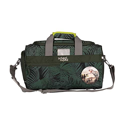 Sporttasche für Mädchen und Jungen - Schultertasche, Schwimmtasche, Reisetasche (Daniel (Dinosaurier))