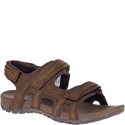 Merrell Men's, Sandspur Lee Sporty Sandals Dark Earth 11 M