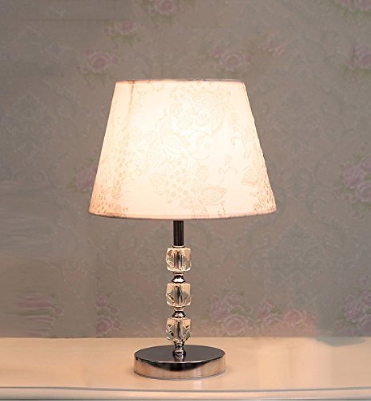 Global- Moderne minimalistische Kristalllampe Schlafzimmer Nachttischlampe (Farbe   C)