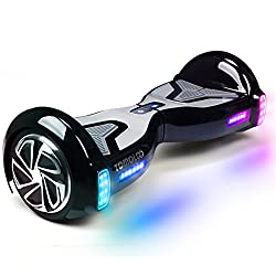 TOMOLOO Music-Rhythmed Fast Hoverboards