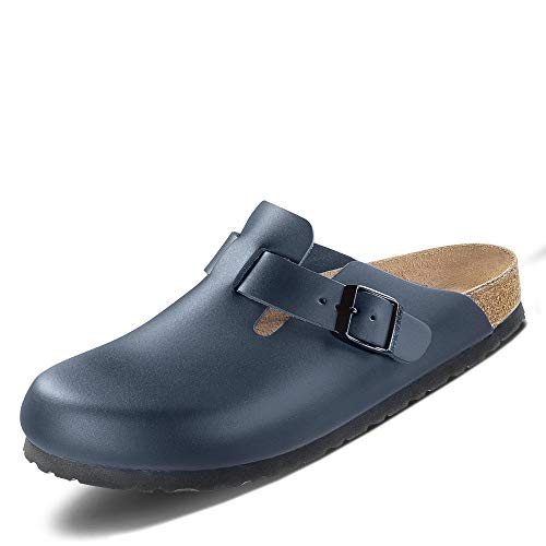 Birkenstock Original Boston ESD Cuoio Stretta, Blue, 061388 42,0