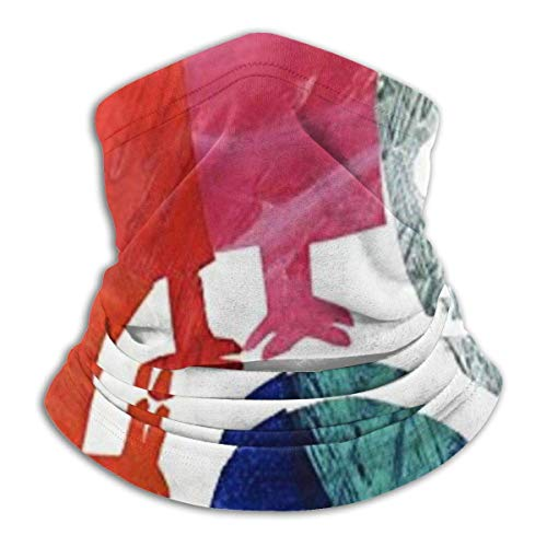 July Mixte Up Chameleon Print Face Scarf Cover Multi-Use Headwear Neck Gaiter for Dust Wind UV Sun Protection